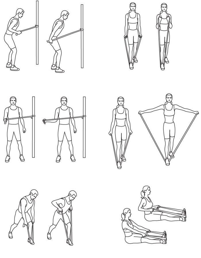 Guma do ćwiczeń SMJ Sport